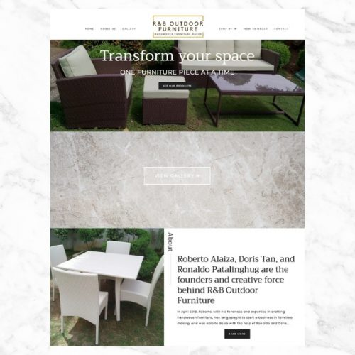 R&B Outdoor Furniture